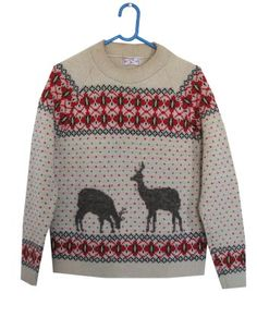 deer sweater