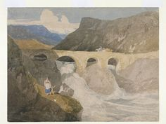Road to Capel Curig, North Wales | John Sell Cotman | V&A Search the Collections
