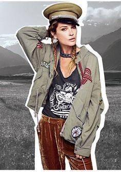 premium selection 01e9b 1906f Womens SLOUCHY GRUNGE JACKET Accesorios, Moda, Últimas Tendencias En Moda,  Consejos De Moda