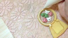 蛋白糖霜餅乾狀裝飾_立體小熊扭蛋機 How To Make 3D Bear Toy Machine Cookie
