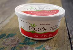 Toby's tofu pate - the jalapeno is awesome!