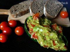 Guacamole - avokádová nátierka (fotorecept) Guacamole, Nachos, Finger Foods, Avocado Toast, Food And Drink, Breakfast, Ethnic Recipes, Fit, Morning Coffee