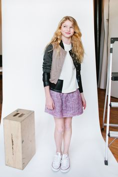 Elizabeth Pettey Photography for Babiekins Magazine (blog) Featurekins // Model Spotlight: Margaux Binder in New York // AW14 Ode to Jeune