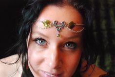 Head Jewelry Headjewelry Headchain Head Chain Head Piece Headpiece Forest Head Jewelry, Jewlery, Unique Jewelry, Head Piece, Dressed To Kill, Boho, Chain, Trending Outfits, Handmade Gifts