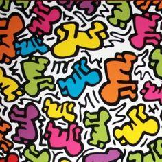 Keith HARING - Affiche d'art : Sans titre 1984