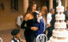 the dress! Stephanie Seymour Guns n Roses November Rain video