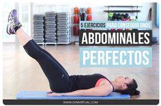 Hoy os dejo esta rutina paso a paso para conseguir definir y marcar los abdominales. Son 5 ejercicios muy fáciles que ya veréis que con práctica no cuestan. Os recomiendo realizar 2 series de cada ejercicio y, después, hacer un poco de ejercicio cardiovascular, mínimo 20-30 minutos. ¡A sudar!