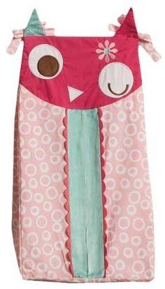 Zutano Owls Diaper Stacker - Kids Line - Diaper Stackers - FAO Schwarz® Owl Themed Nursery, Owl Nursery Decor, Baby Decor, Elephant Nursery, Baby Girl Owl, Baby Owls, Sewing For Kids, Baby Sewing, Sewing Ideas