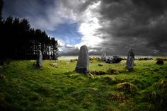 Aikey Brae Stone Circle, Mintlaw, Aberdeenshire, Scotland.