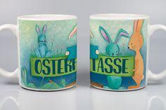 Tasse. Entwurf handgezeichnet. Motiv dauerhaft in den Lack gebrannt. Spülmaschinengeeignet, kraz- und stoßfest. www.keramiklich.de