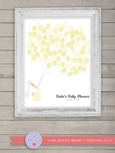 Wonderful Baby Shower Guest Book Alternative, Baby Shower Gift, Personalized Baby  Room Decoration. Unique Baby Shower Present   Babies, Unique Baby Shower  And ...