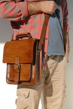 Leather handmade bag, messenger bag, crossbody bag, laptop bag, etc. by HANDMADELEATHERBAGCo on Etsy https://www.etsy.com/listing/279361410/leather-handmade-bag-messenger-bag
