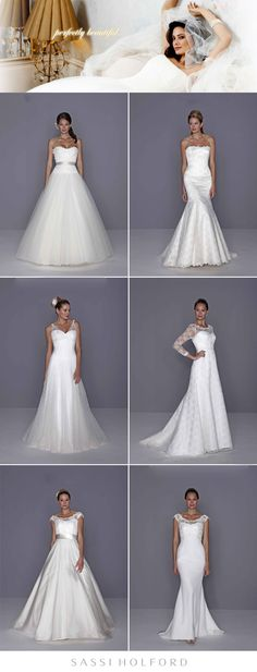 Check out the gorgeous Sassi Holford collection, new to the DFW area and available at @Bliss Bridal! #wedding #bridal #gown #sassiholford #designer #collection