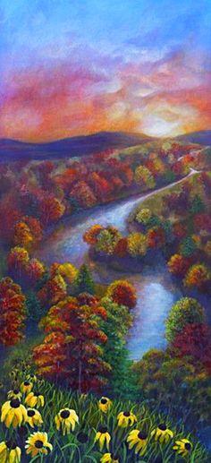 River Sunset ~ NUMA Gallery