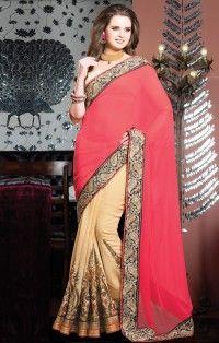 touching-hot-pink-beige-georgette-embroidery-work-designer-saree-800x1100.jpg