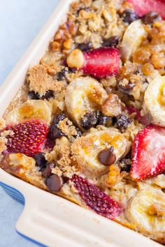 How to Make Baked Oatmeal at Home