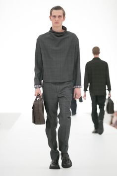 A look from the Ermenegildo Zegna Spring 2016 Menswear collection.