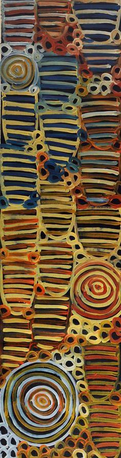 Minnie Pwerle Dreaming Awelye Atnwengerrp Bush Melon Seed From the Butler Goode Gallery Aboriginal Painting, Aboriginal Artists, Dot Painting, Painting & Drawing, Centre Des Arts, Glass Bead Game, Creation Art, Art Sculpture, Australian Art
