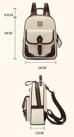 Cheap Retro British Style Travel Bag Shoulder Bag Buckle Backpack For Big Sale!Retro British Style Travel Bag Shoulder Bag Buckle Backpack,simple and fashion, with exquisite double pull head. Backpack Bags, Leather Backpack, Leather Wallet, Fashion Bags, Fashion Backpack, Leather Bag Pattern, Laptop Rucksack, Back Bag, Leather Bags Handmade