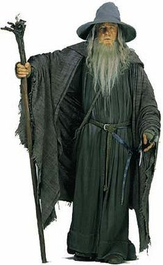Gandalf view of first robes from LOTR
