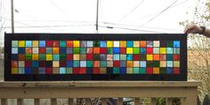 """Stained glass Panel - """"Color Mix"""" (P-32)"""