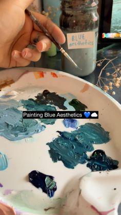 Watercolor Landscape Paintings, Artist Painting, Diy Painting, Diy Canvas Art, Diy Wall Art, Stippling Art, Creative And Aesthetic Development, Conceptual Art, App Drawings
