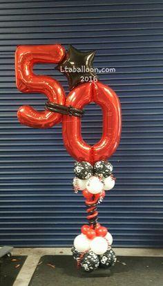 """Megaloon Balloon Column """"50"""" Mehr"""
