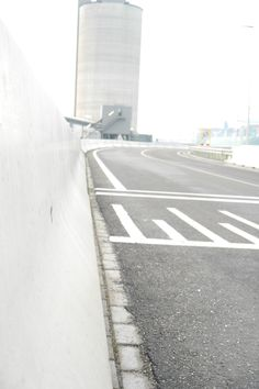 Highway at the Harbour of Rotterdam by Jill Sauerbreij