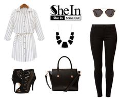 """SheIn"" by minna-998 ❤ liked on Polyvore featuring Dorothy Perkins, Nine West, Ted Baker, Christian Dior and Karen Kane"