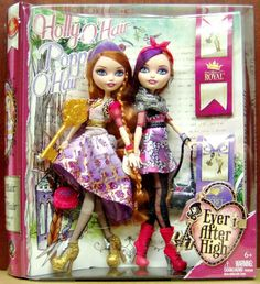 NEW! HOLLY and POPPY O'HAIR Daughters of Rapunzel 2 Pack EVER AFTER HIGH  - NIB! #Mattel