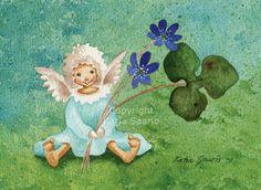 Katja Saario m Fairy Art, Tinkerbell, Finland, Disney Characters, Fictional Characters, Angels, Artists, Disney Princess, Illustration