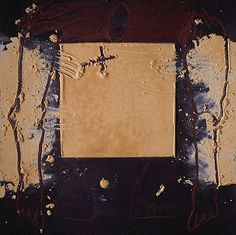 Antonio Tapies. I remember the first time walked into a Tapies exhibition at the NGV in Victoria, Austrlia, about twenty-five years ago. I cried, I was so deeply moved. It was like discovering a long-lost treasure.
