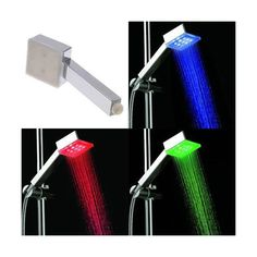 Buy Squared Eco LED Light Shower Head | As seen on TV at the best price. The Squared Eco LED Light Shower Head changes colour depending on the temperature, adding joy and colour to your shower. TheSquared Eco LED Light Shower Head is also a very useful invention, as it detects water temperature and indicates it with different colours. The Squared Eco LED Light Shower Head doesn't need any batteries or chargers. The light is activated through water pressure. No doubt, the Squared Eco LED…