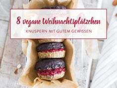 Knuspriger Advent: 8 Vegane Weihnachtsplätzchen