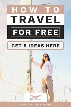 Looking for ways to afford travel or even travel for free? Click here for the top tips to travel for free. Consider these 8 ways to travel for free and you can even get paid for your next experience abroad. #travelanthropy #mytravelanthropy #traveltips | travel for free | how to get paid to travel | how to save money for travel | budget travel tips | get paid to travel blog | volunteer abroad | volunteer abroad ideas | volunteer abroad tips | volunteer abroad free | volunteer abroad programs… Europe On A Budget, Budget Travel, Travel Deals, Travel Guides, Ways To Travel, Travel Tips, Travel Grant, Volunteer Abroad, Travel Abroad