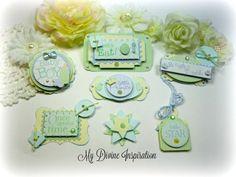 Baby Boy  Paper Embellishments Scrapbook by mydivineinspiration