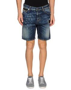 JUST CAVALLI デニムショートパンツ. #justcavalli #cloth #top #pant #coat #jacket #short #beachwear