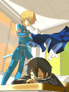 Kirito Sleeping