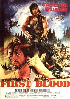 First Blood - Thai one sheet - large - Thailand - Tongdee Panumas artwork - Rambo - Sylvester Stallone Action Movie Poster, Best Movie Posters, Cinema Posters, Movie Poster Art, Action Movies, Awesome Posters, Film Rambo, Silvester Stallone, First Blood