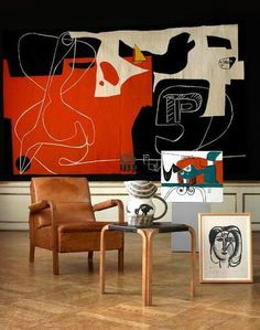 Sydney Opera House Buys Le Corbusier Tapestry from Estate of Jørn Utzon Alvar Aalto, Le Corbusier, Modern Art, Contemporary Art, Wall Decor, Room Decor, Design Art, Interior Design, Georges Braque