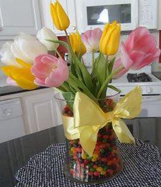 DIY Easter : DIY Jelly Bean Vase {Easter Ideas}