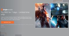 EA now offering 7-day free trial of Origin Access
