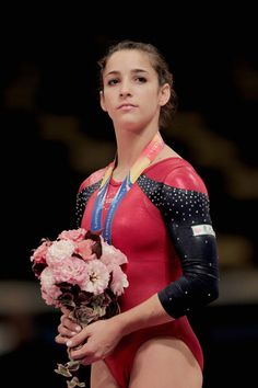 Aly Raisman of Team USA wins bronze on floor exercise at the 2011 world championships.