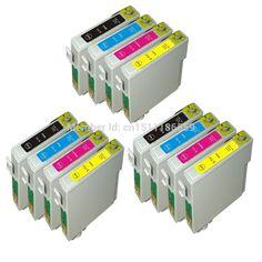 12pcs Compatible T0715 ink cartridges for Epson stylus S21 / SX210 / SX215 / SX410 / SX415 / SX110 / SX115 / BX31F printer
