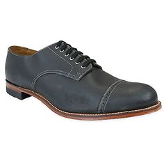 Classic Leather Oxford - Black