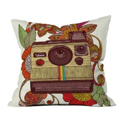 Out Of Sight Throw Pillow by Valentina Ramos