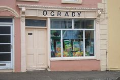 You can't beat Ireland for some great old time shop fronts! Ballylanders, Co. Ireland Homes, Layout, Store Windows, Shop Fronts, Shop Around, Time Shop, Shop Interior Design, Landscape Photos, Gallery Wall