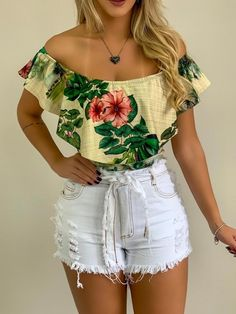 Cute Cowgirl Outfits, Cute Outfits, Girl Fashion, Fashion Outfits, Womens Fashion, Pretty Prom Dresses, Baddie Outfits Casual, Beachwear Fashion, Outfit Combinations