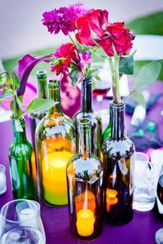 vineyard wedding // nicole goddard photography, maybe add some glitter to the bottles