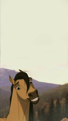 Spirit The Horse, Spirit And Rain, Cute Horse Pictures, Cute Disney Pictures, Cute Disney Wallpaper, Cute Cartoon Wallpapers, Horse Drawings, Cute Drawings, Cavalo Wallpaper